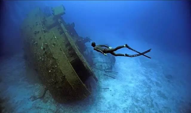 自 由 潛 水 潛 在 許 多 危 險