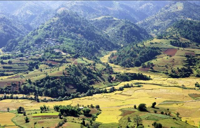 撣 邦 高 原 。
