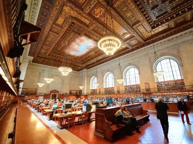 全球最美圖書館 紐約圖書館