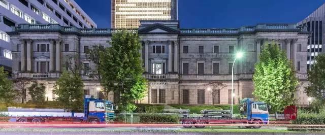 日本銀行本店大樓。