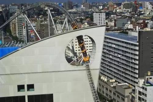 巨 蛋 城 市 樂 園 。