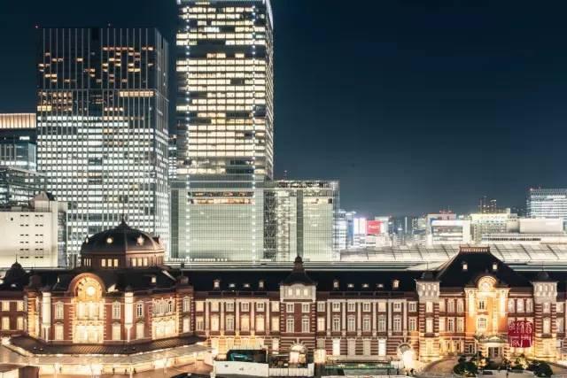 東京站丸之內側。