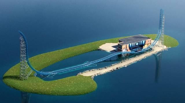 一 島 一遊 樂 園 的 設 計 。