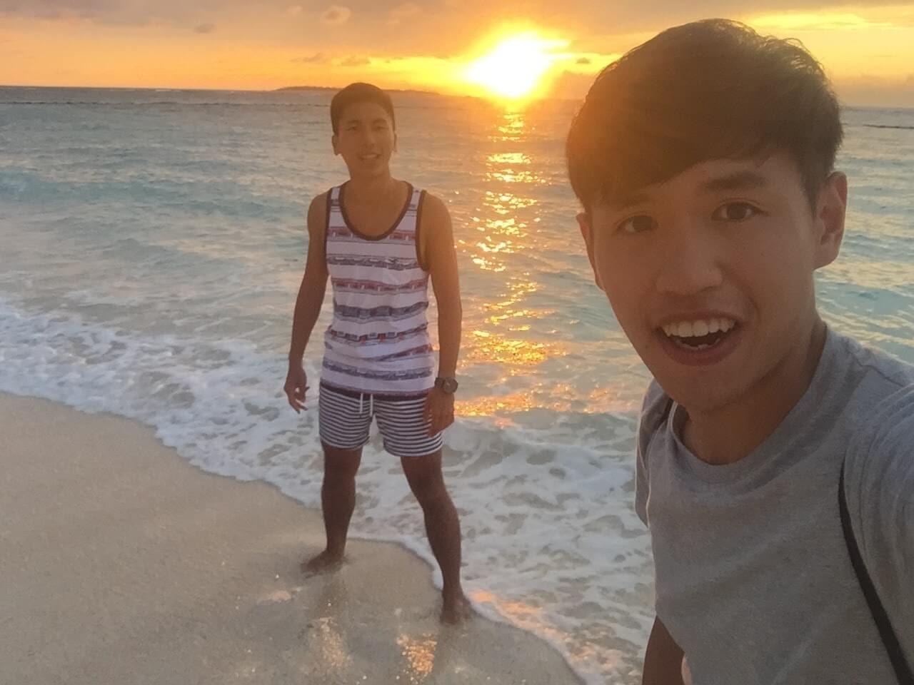 瀨底島夕陽