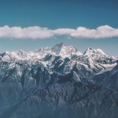 不丹神秘面紗 喜 馬 拉 雅 山 脈 。