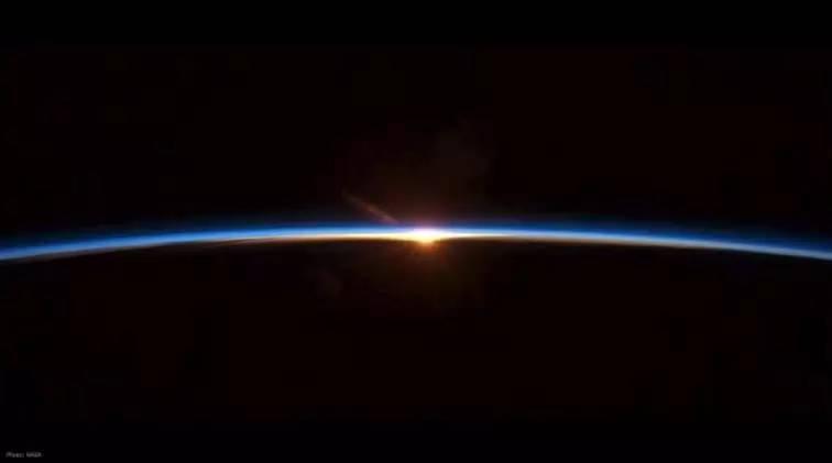太 空 上 的 生 活 點 滴 。