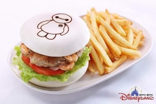 杯麵漢堡 火箭餐廳 Photo: Hong Kong Disney