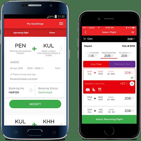 馬來實用App : AirAsia