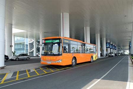 河內機場到市區 : No.7 巴士