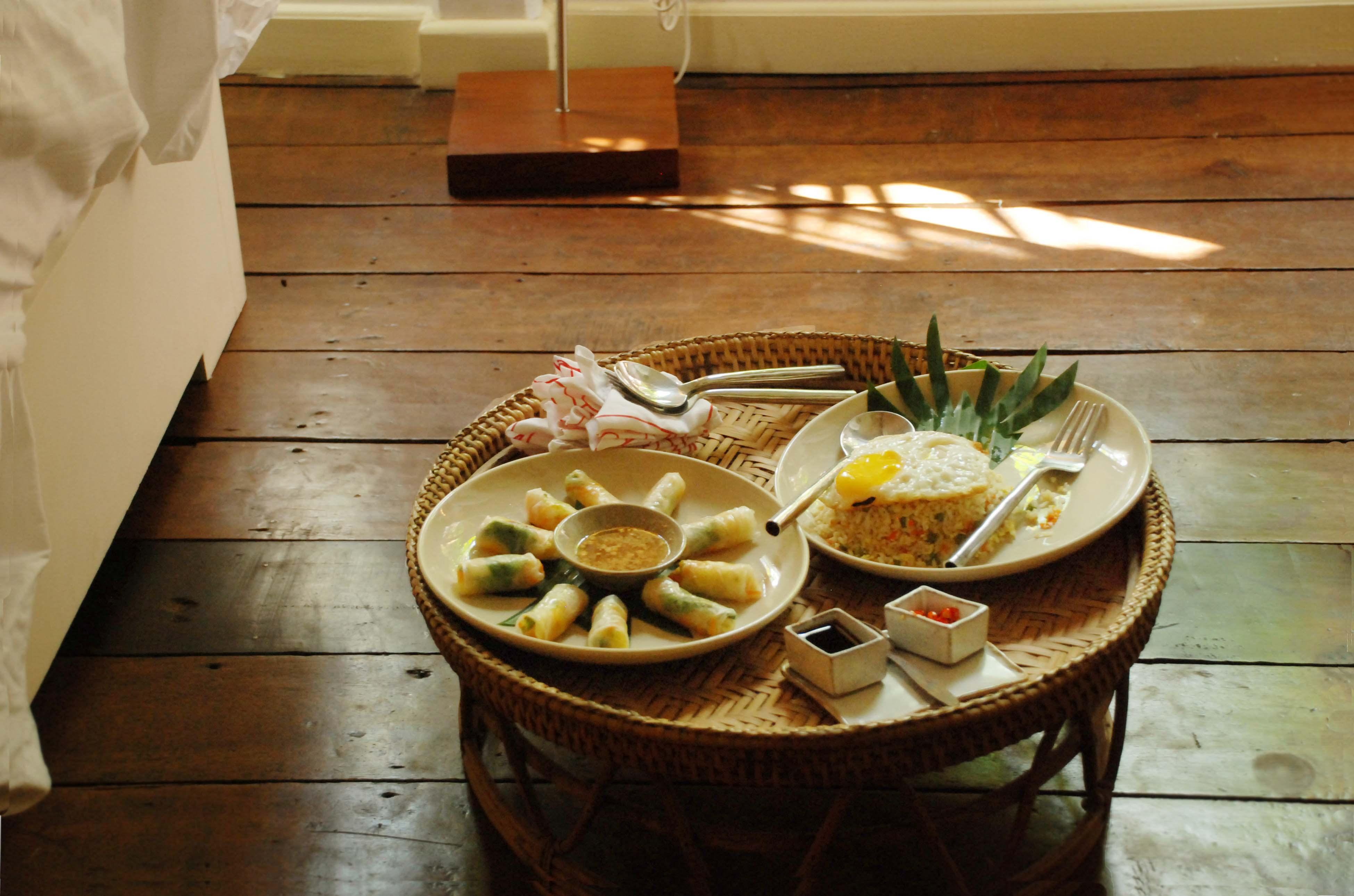 Maison Polanka的廚師擅長傳統家庭料理,客房服務的餐點非常美味 (Photographer: Ran)