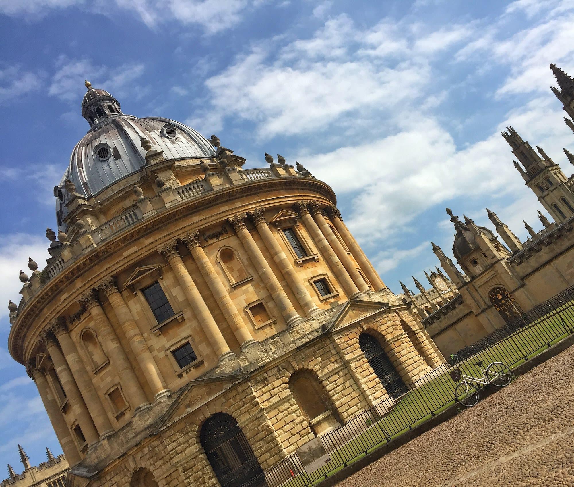 波德林圖書館(Bodleian Library)是歐洲最古老的圖書館之一,哈利波特電影曾在此取景。
