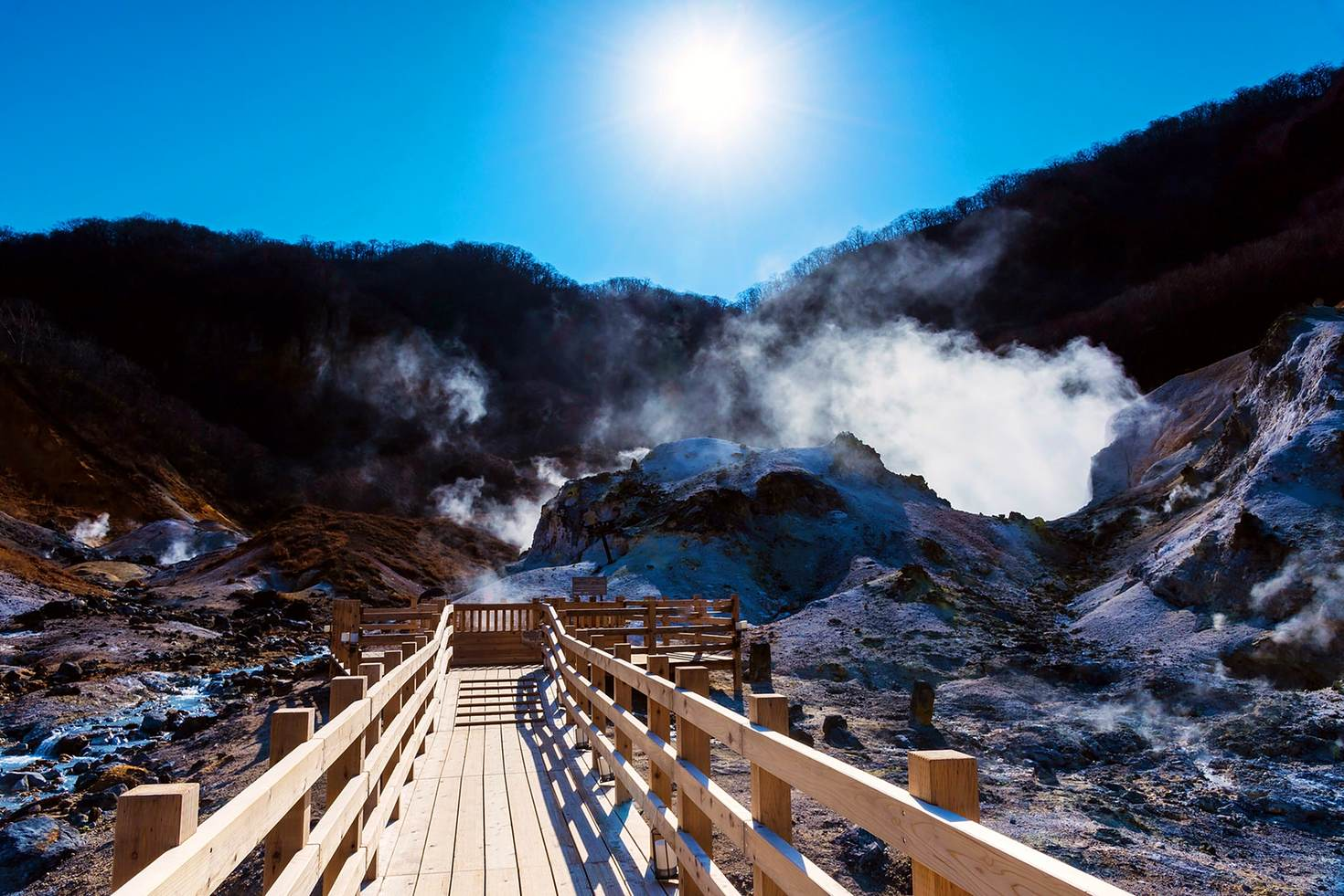 多 種 風 貌 的 北 海 道