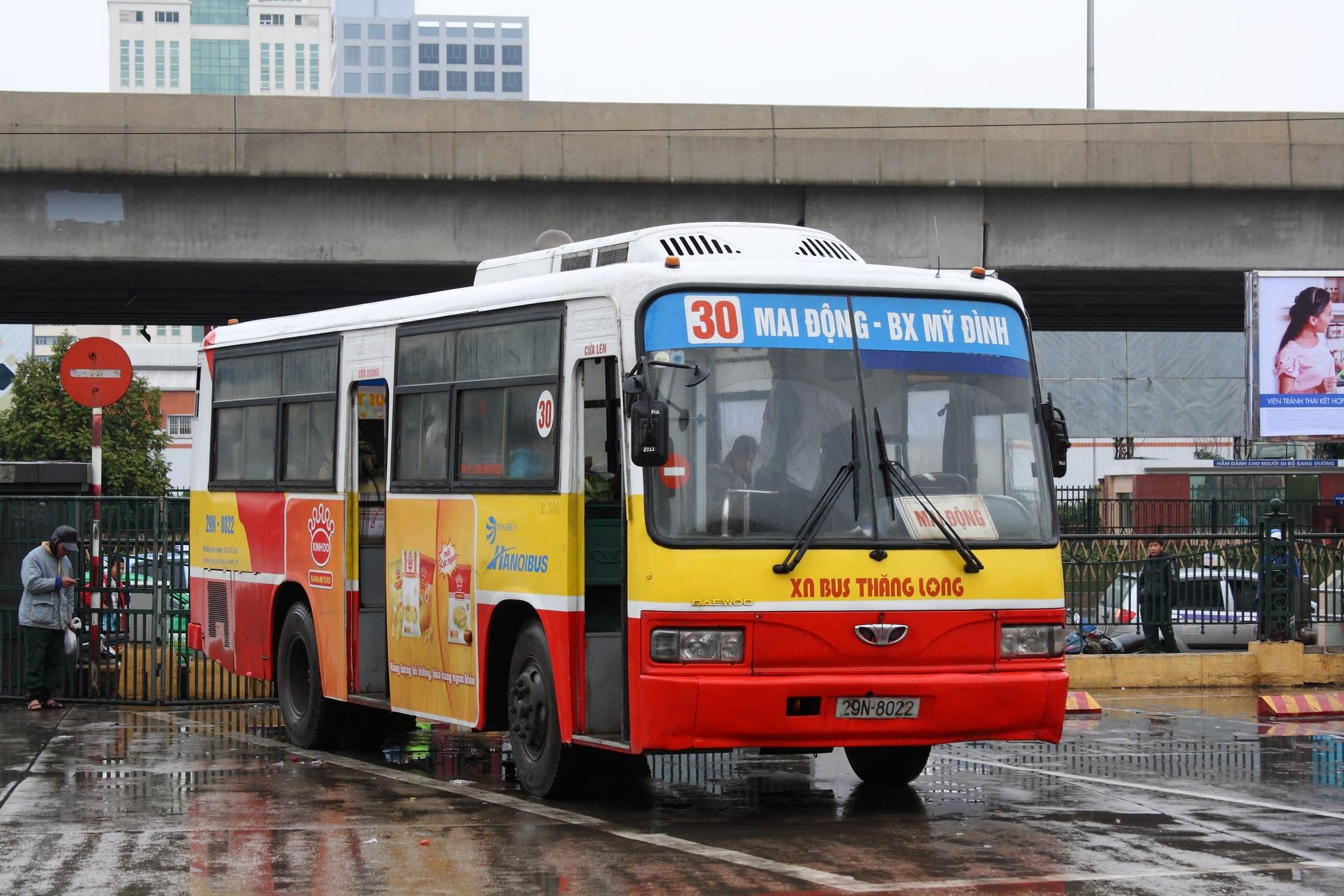 河內交通攻略 : 市區內公車