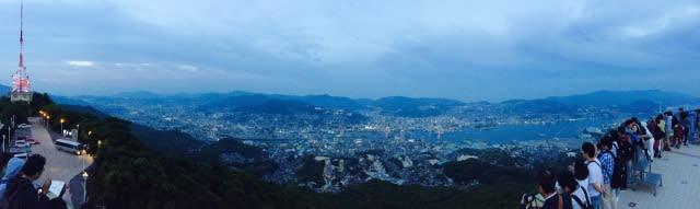 全景的長崎,縱觀歷史的興衰