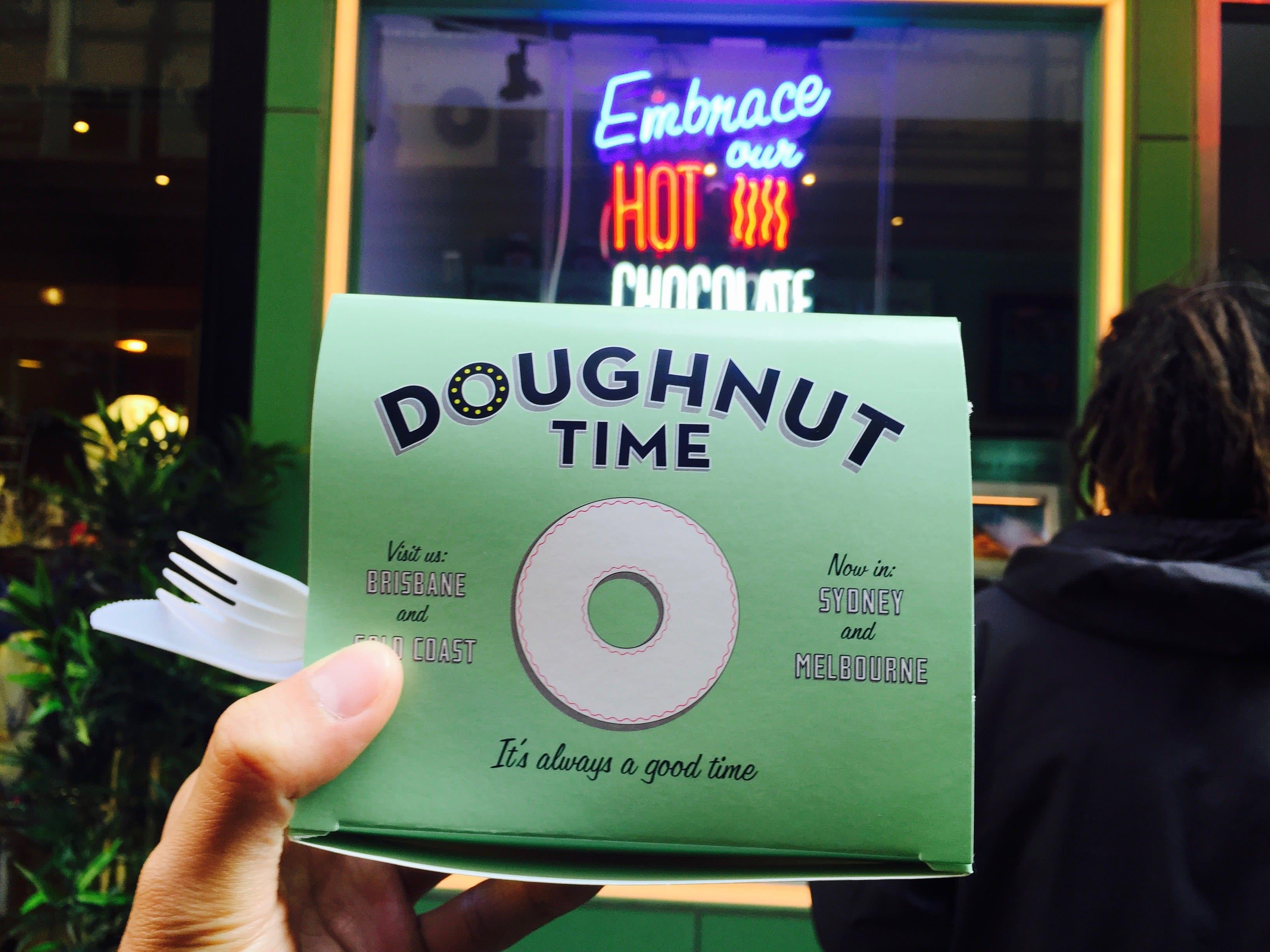 澳洲最熱門 Doughnut Time。 Photographer|Zach Huang