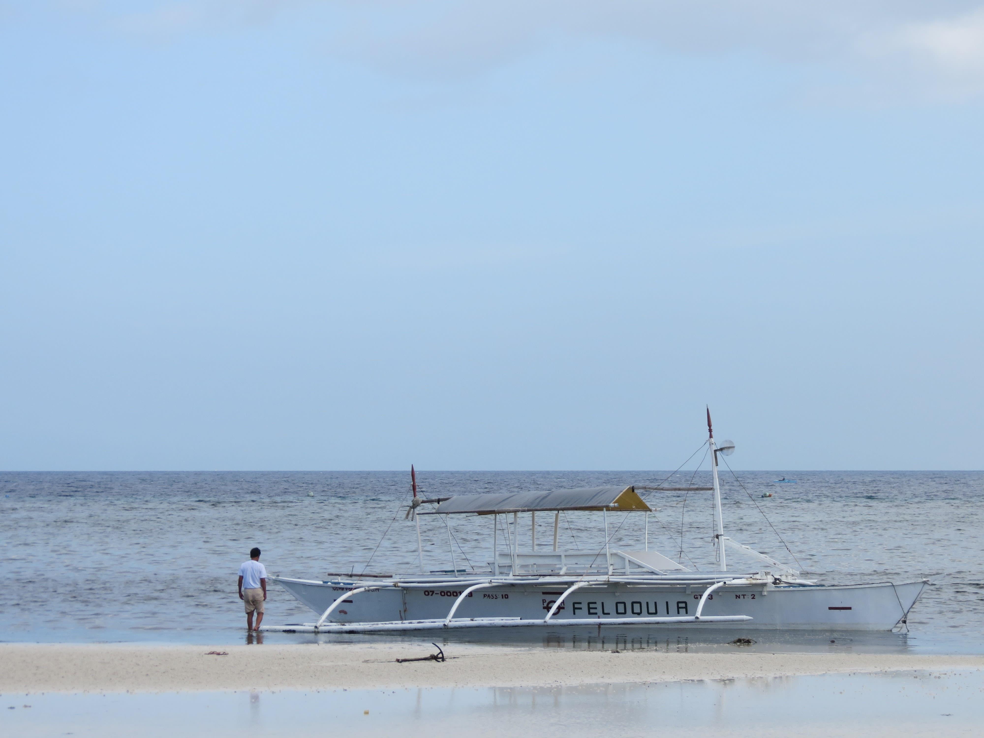 藏有無敵海景的飯店,讓人忘卻煩惱。|Awesome sea-view here.