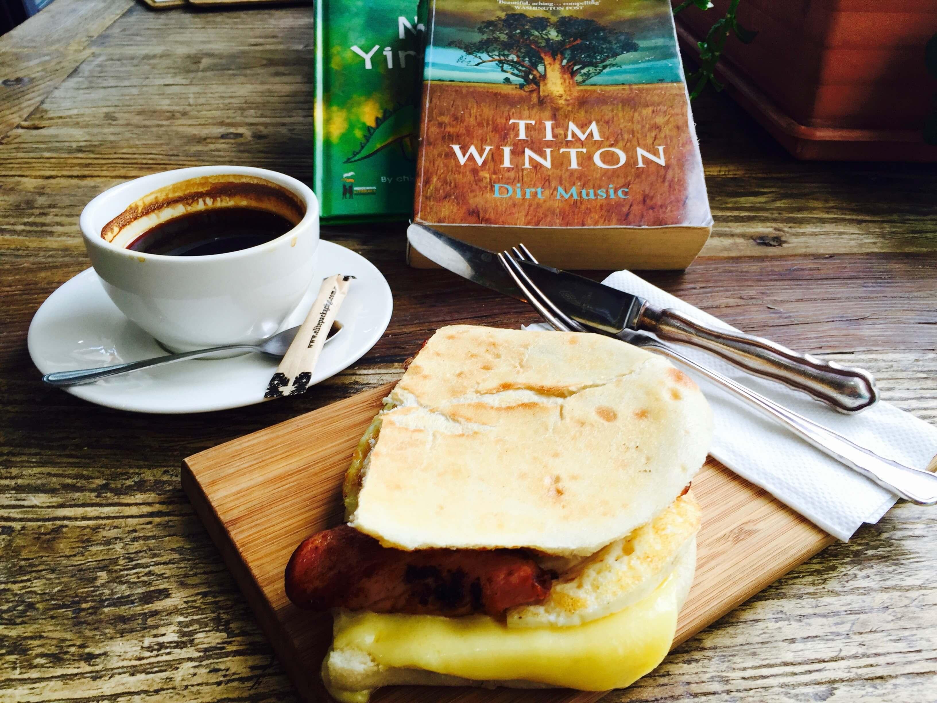 雪梨早午餐推薦 : 火腿帕尼尼 @ Social Laneway Espresso