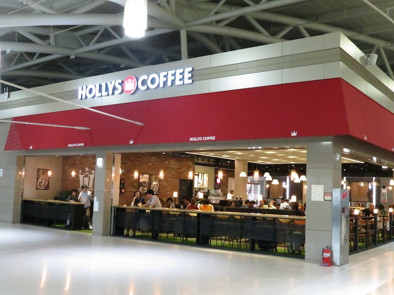 Hollys Coffee營業時間 05:30~21:00