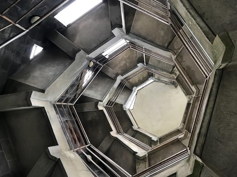 八角瞭望台內部超特別的設計!