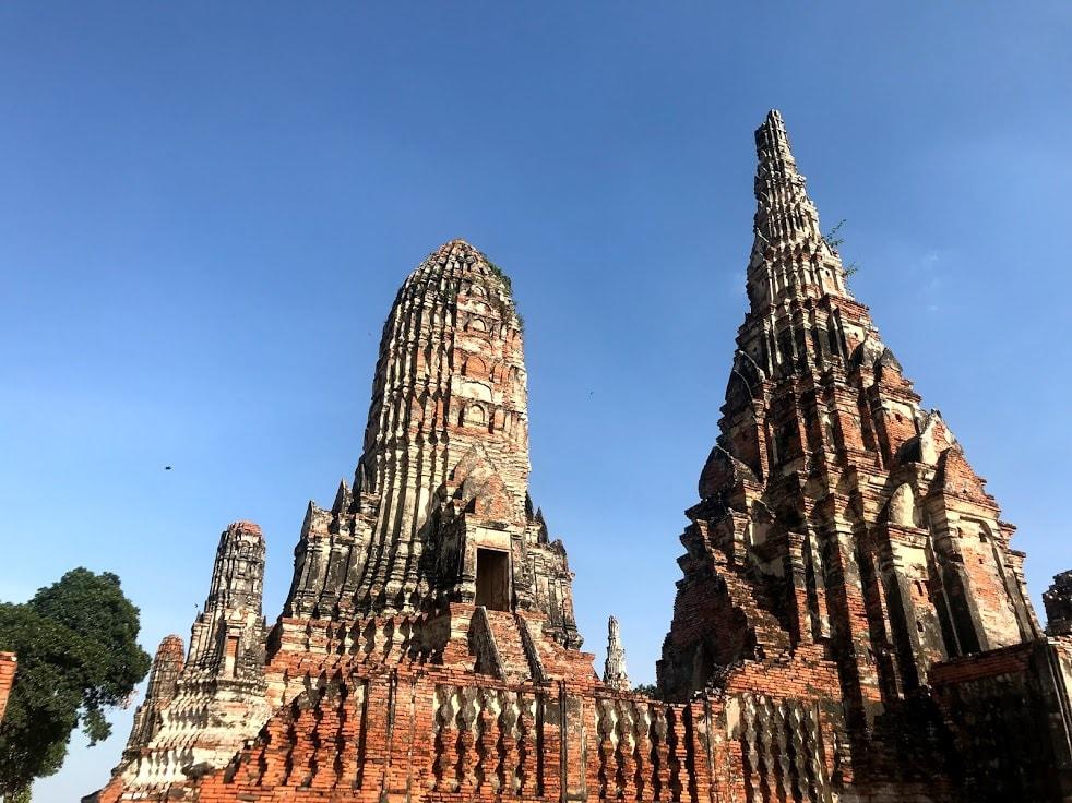 大城景點 ・ 柴瓦塔那蘭寺 。 Photo|Zach Huang