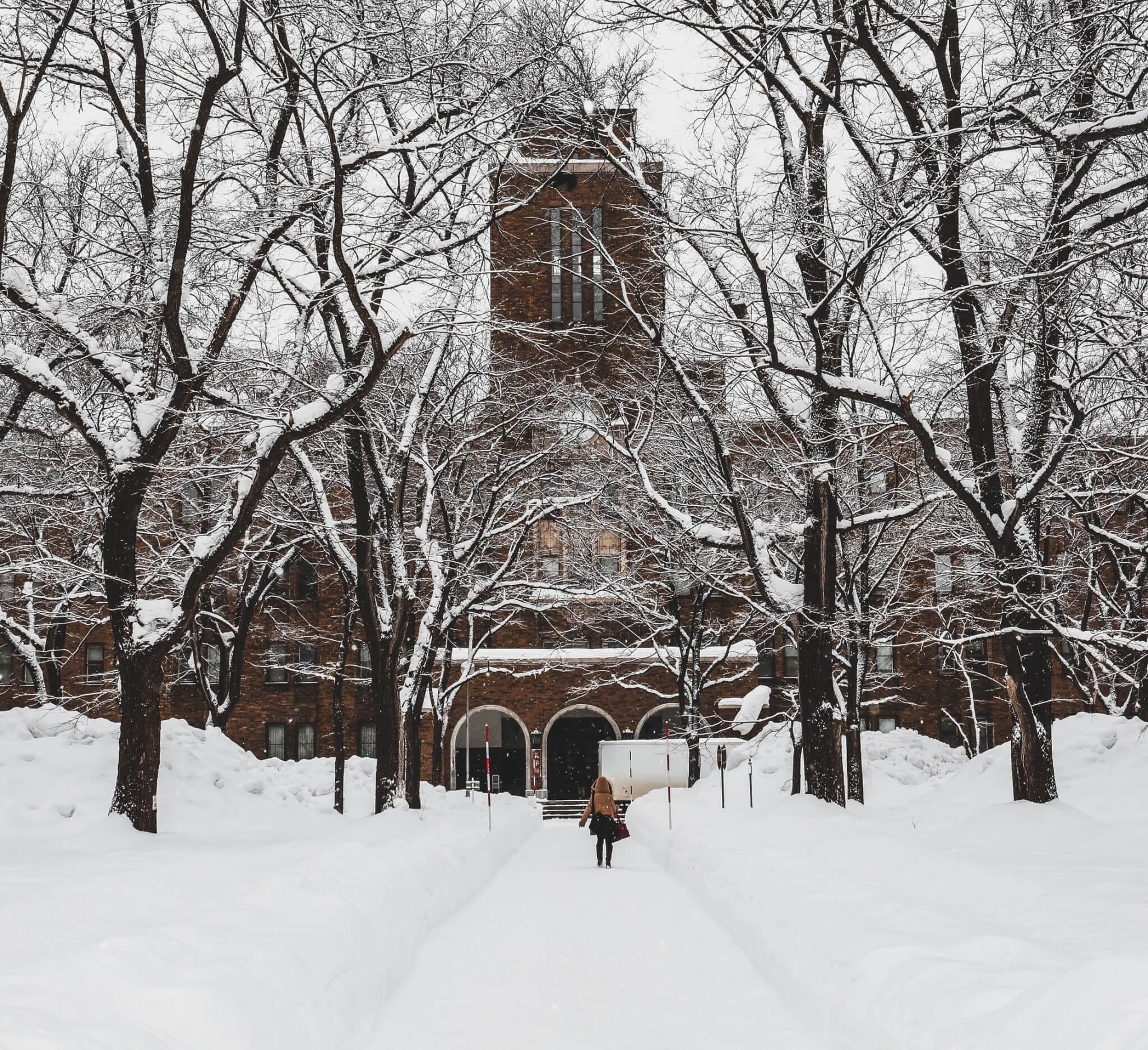北 海 道 大 學 農 學 院 大 樓