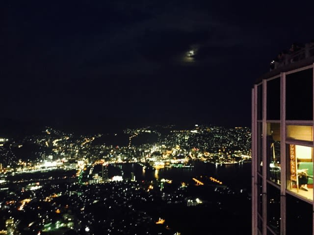 晚 安 , 長 崎 稻 佐 山