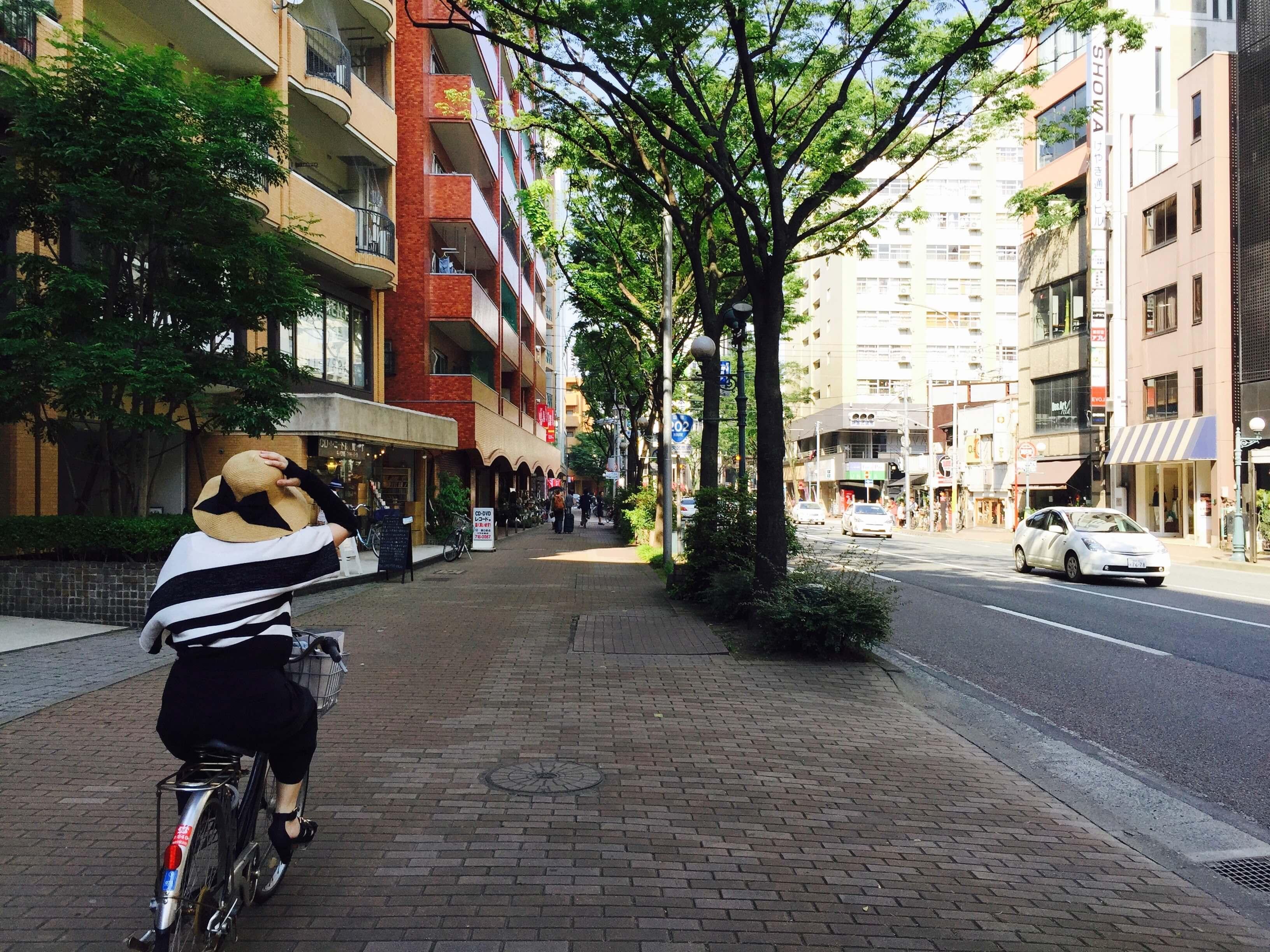 福 岡 是 相 當 新 的 城 市 , 街 景 都 有 規 劃 過 。
