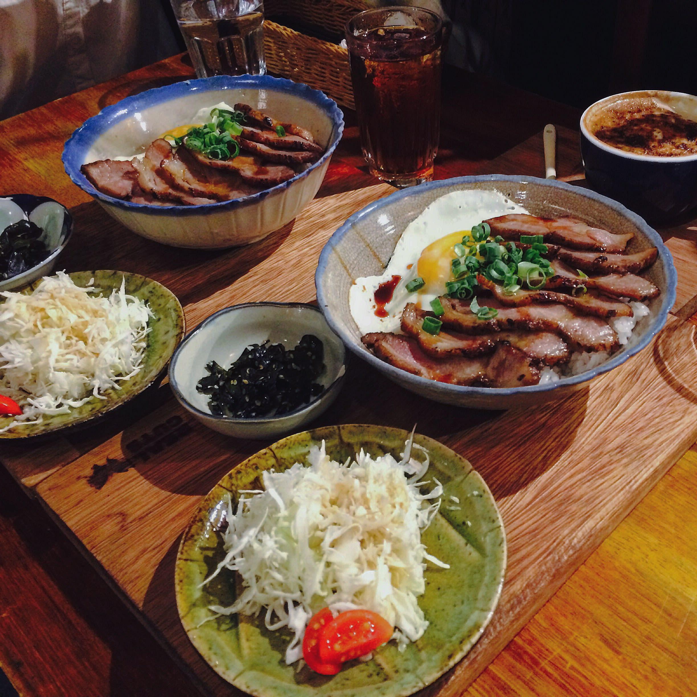 老碗公甜醬油叉燒飯,NT240