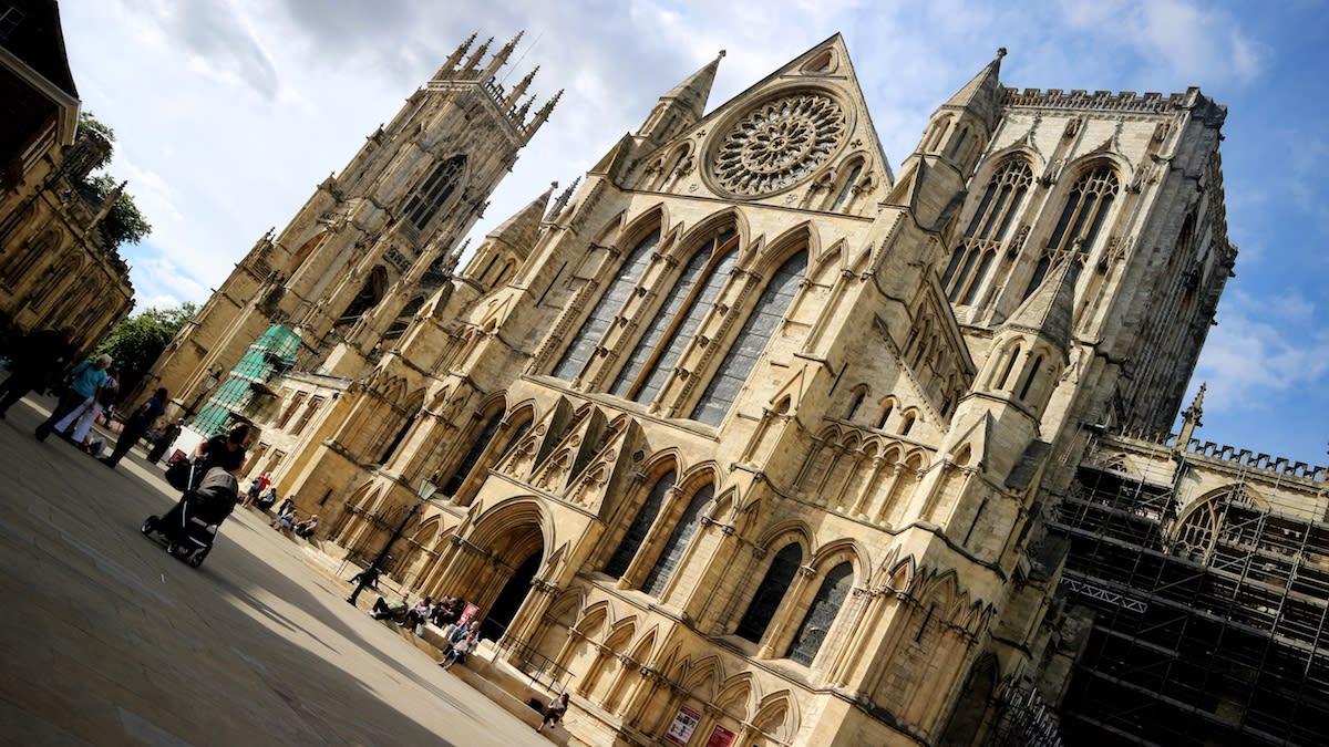 約克大教堂(York Minster)是英國早期的哥德式建築。