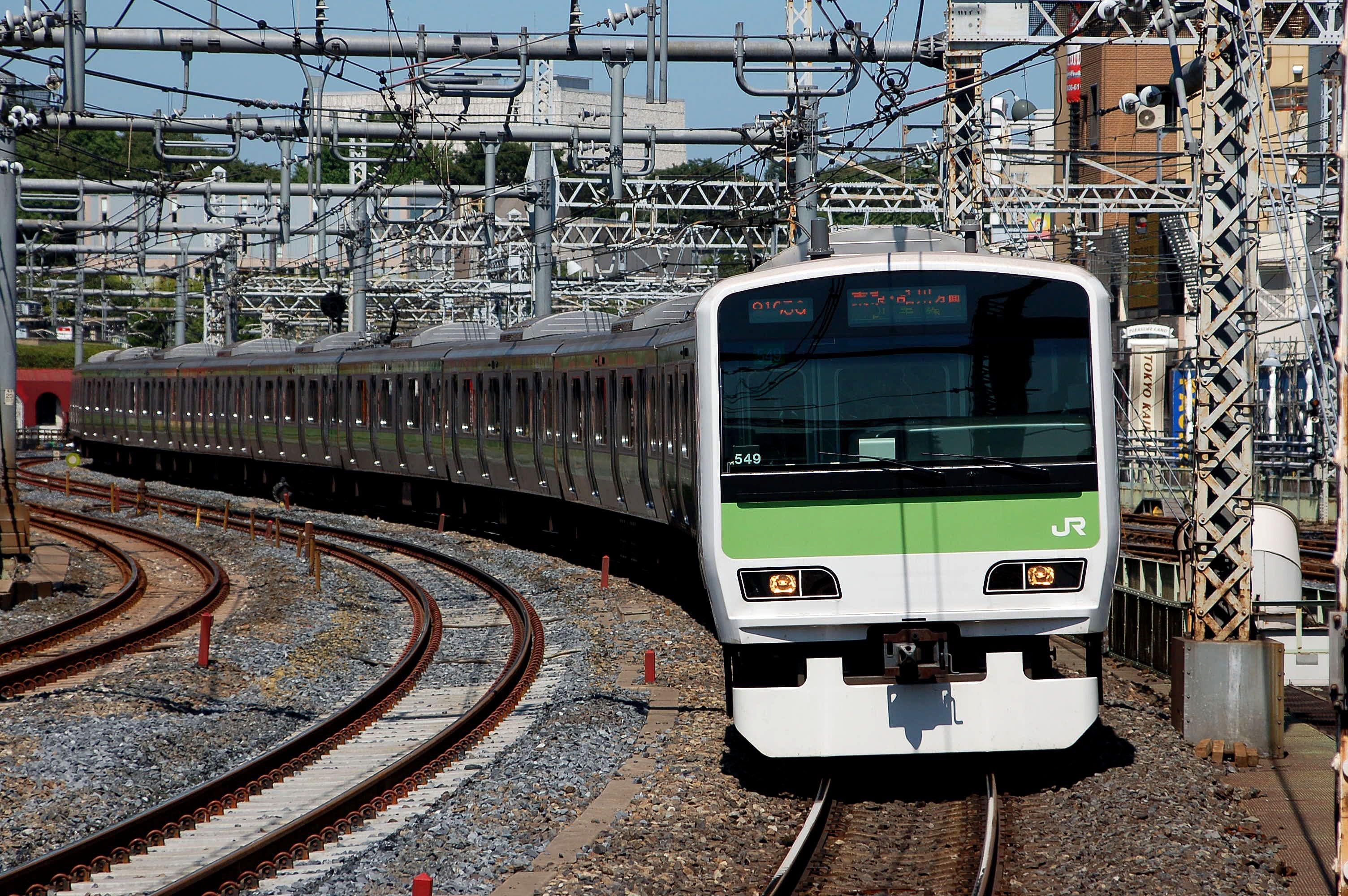 JR山手線列車 | 來源:http://www.jreast.co.jp/tc/ticket/types.html