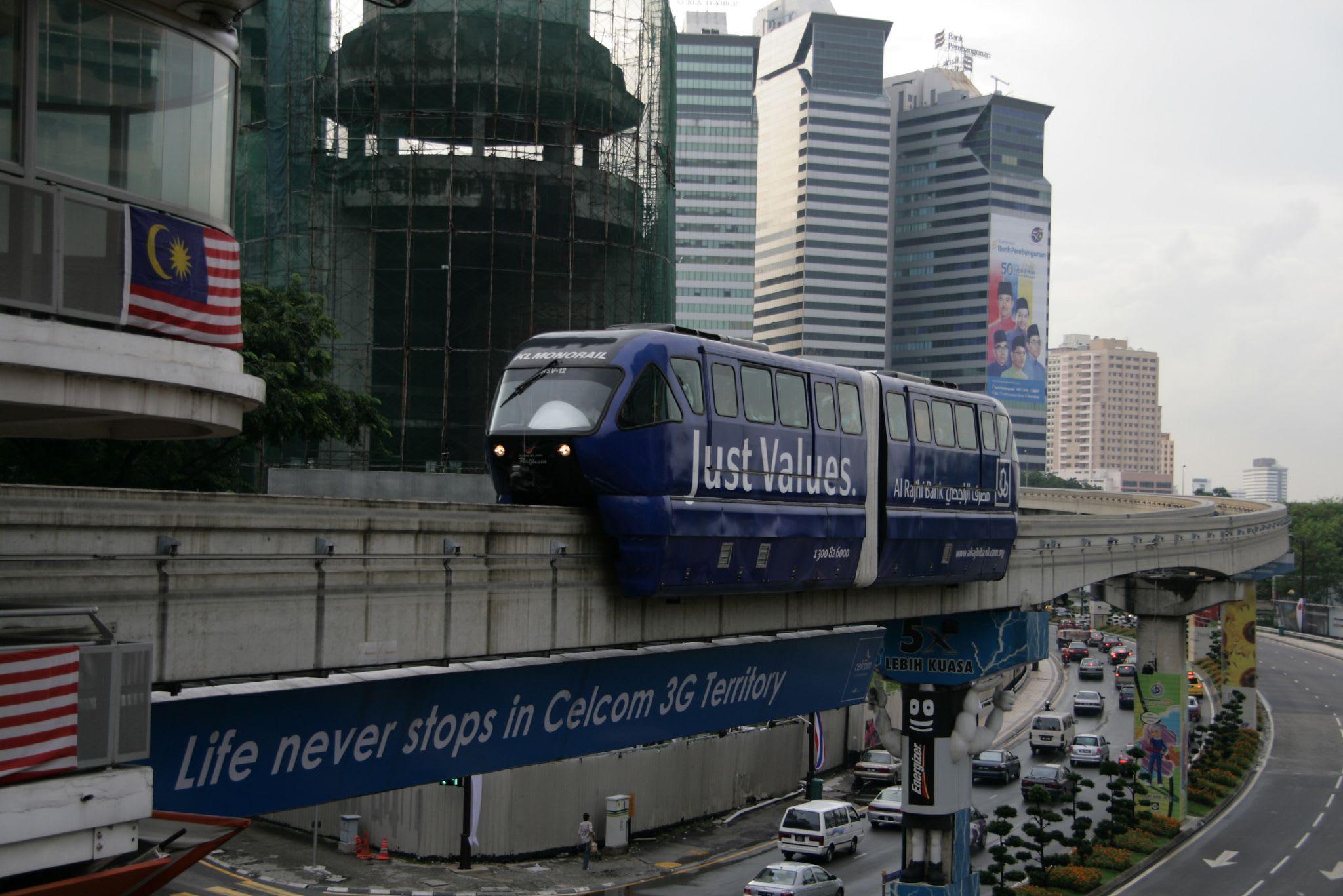 吉隆坡交通 : 單軌列車
