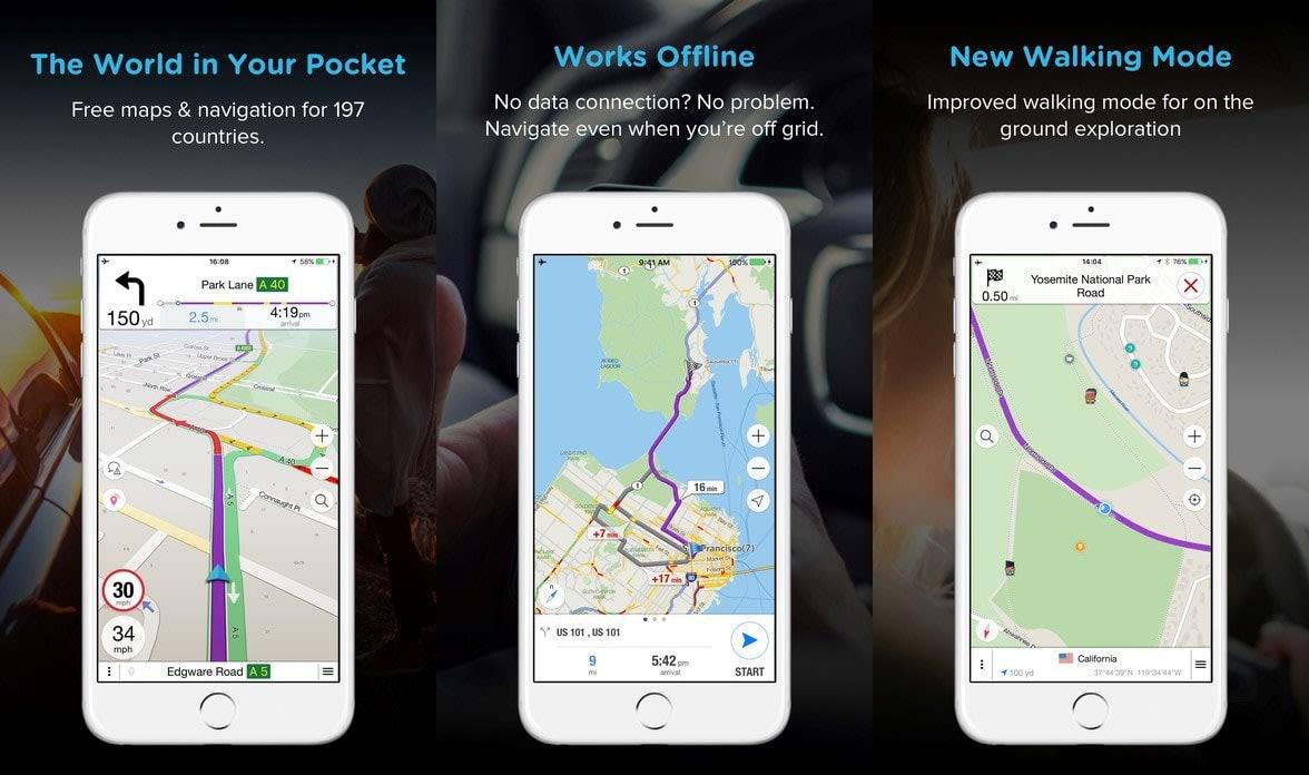 馬來實用App : Navmii