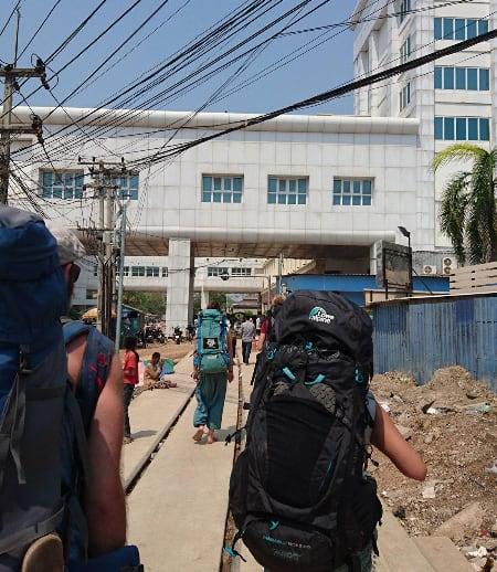 柬埔寨泰國陸路