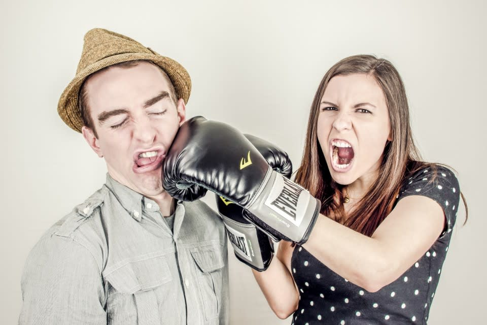 boss-fight-stock-photos-free-high-resolution-images-photography-women-woman-punching-man-960x640
