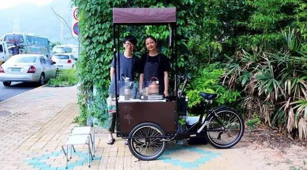 C'coffee 咖 啡 車 。