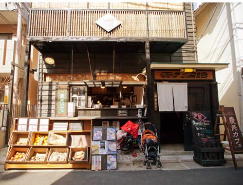 日 本 街 角 契 茶 店 ( 圖 片 來 源 : tokyo eats )