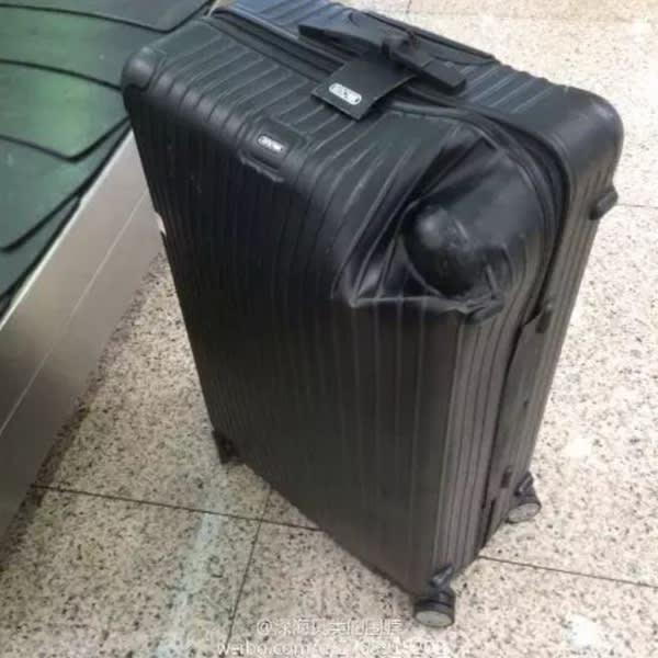 陶 喆 的 RIMOWA , 不 知 名 機 場 作 品 。