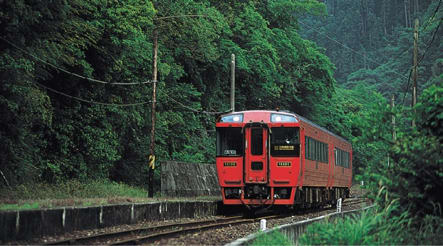 九 州 觀 光 列 車 。