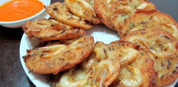 越南必吃 : 越南蝦餅
