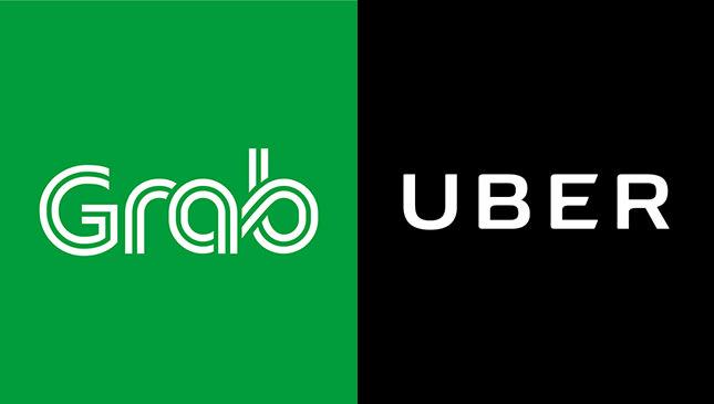 胡志明市交通 : Uber & Grab