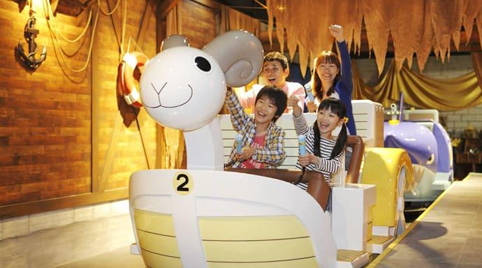 海賊王的相關設施/ Photo:namco.co.jp