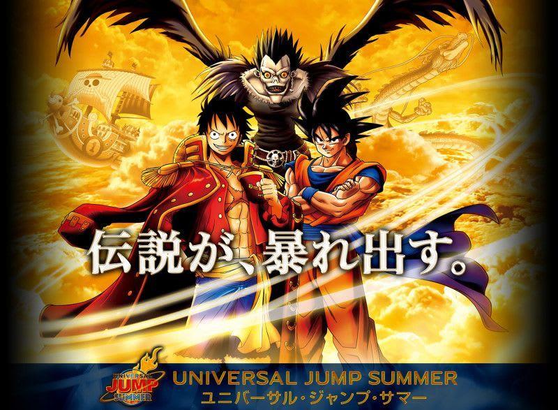 One Piece、龍珠、死亡筆記3大動漫熱爆進駐