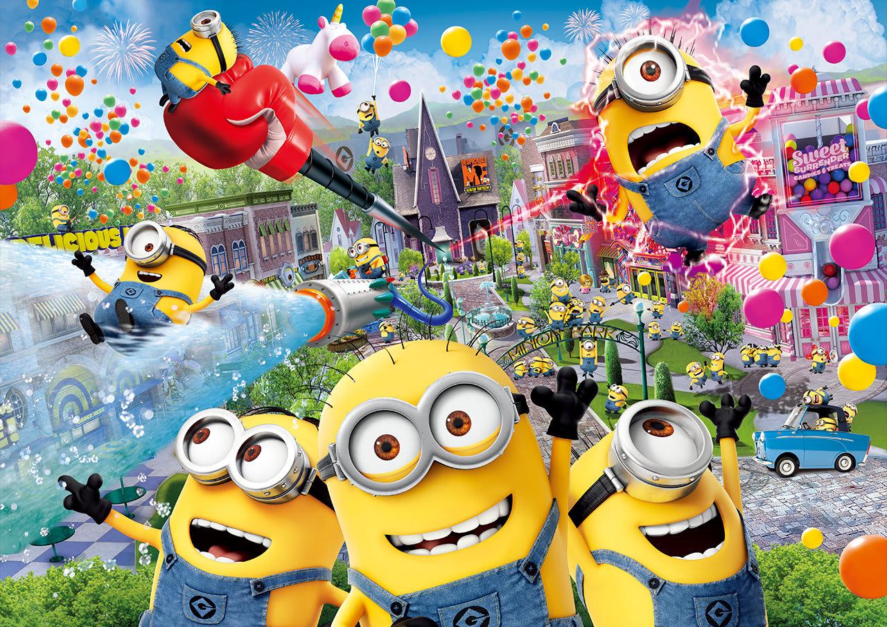 2 0 1 7 年 大 阪 環 球 影 城 推 出 世 界 首 座 「 小 小 兵 樂 園 」