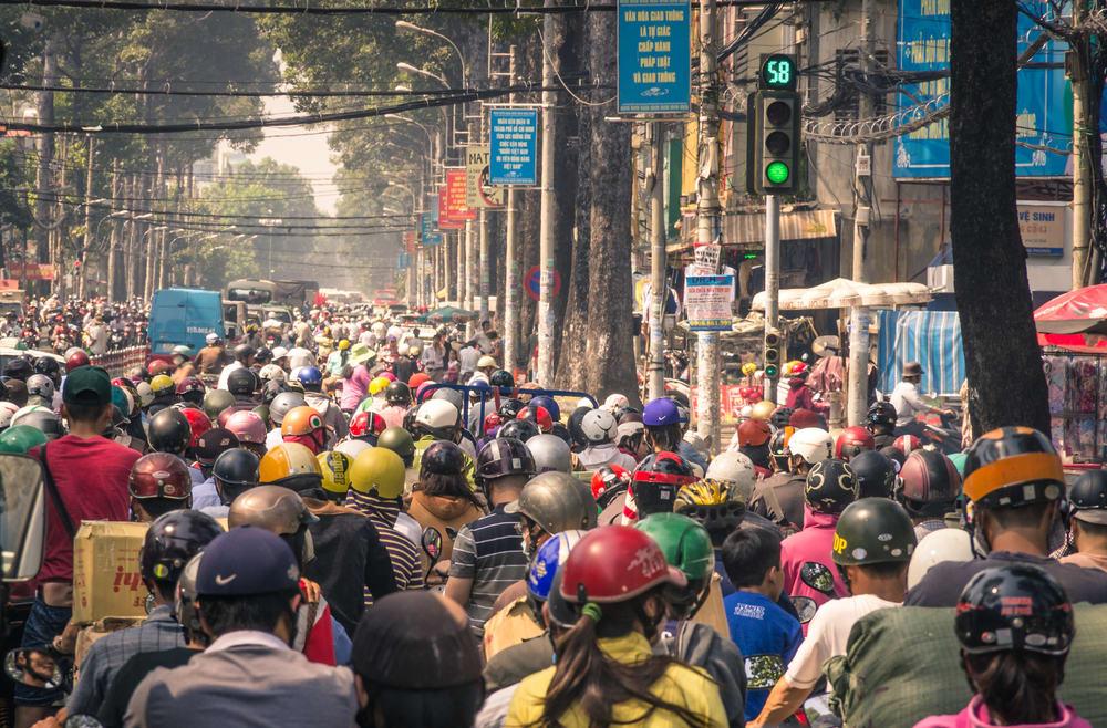 胡志明交通 : 摩托車