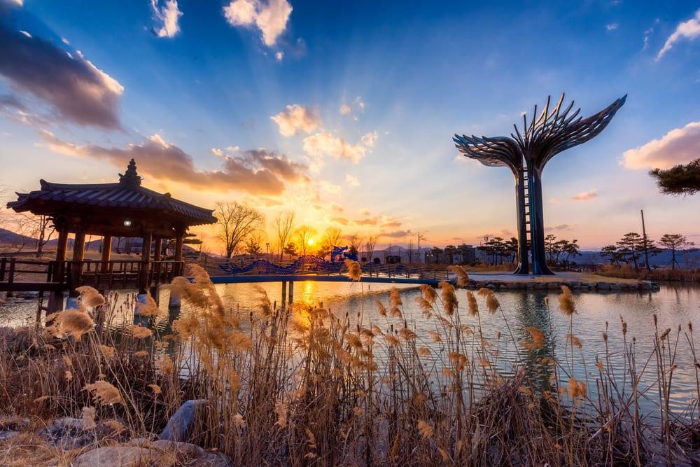 台北飛大邱 : 虎航、釜山、德威