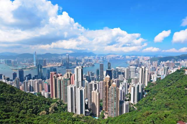 香港度過小週末 太 平 山 日 景