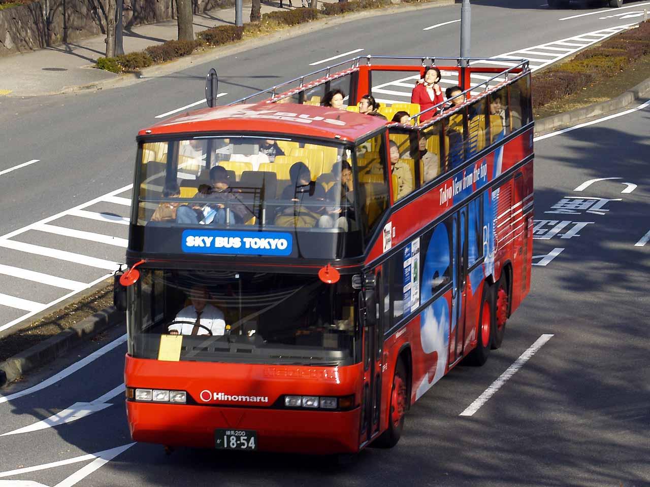 SKY BUS TOKYO:適合全家大小一起搭乘的一款巴士|來源:commons.wikimedia.org