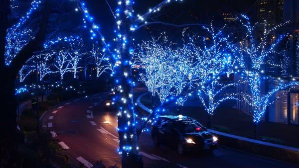 六 本 木 的 夜 景 太 美 麗 了 , 一 定 要 來 看 看 !