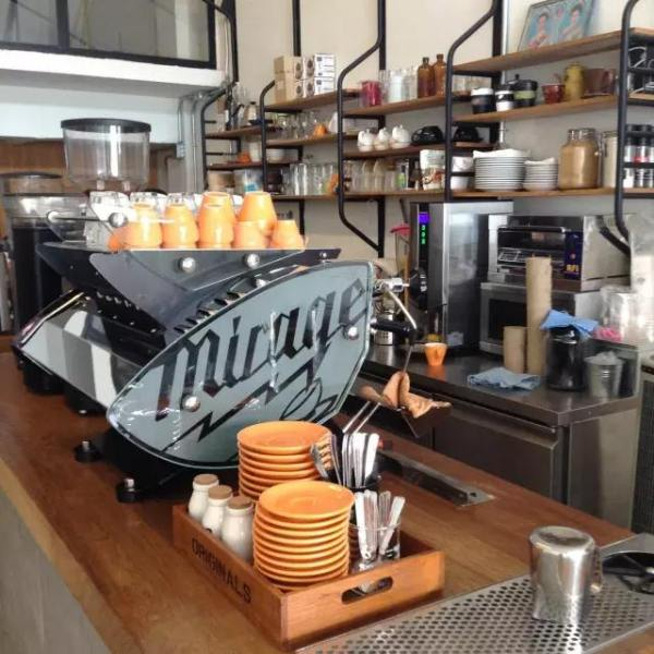 充 滿 澳 式 風 格 的 Ponganes Espresso。