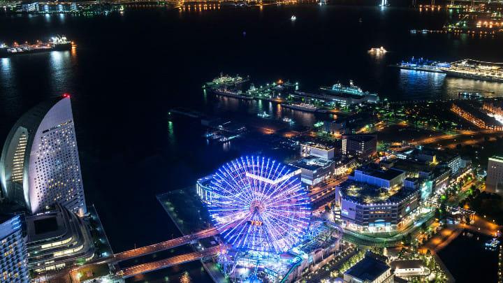 東 京 灣 夜 景 ( 圖 片 來 源: IKIDANE NIPPON)